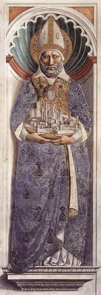 GOZZOLI Benozzo St Gimignano on the Pillar